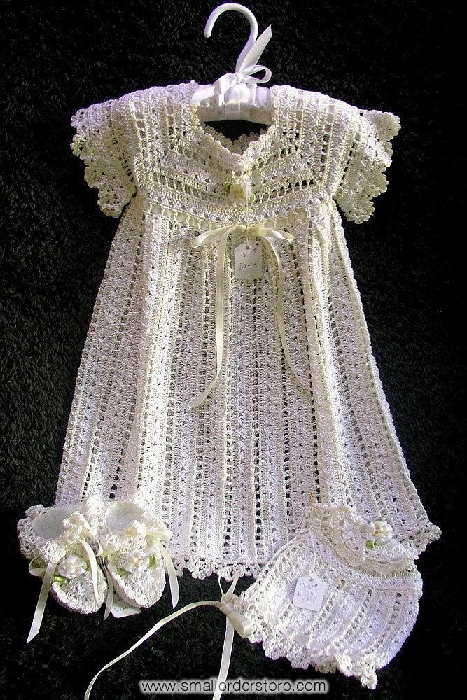 Free Crochet Christening Dress | Compare Christening Dress-Source ...