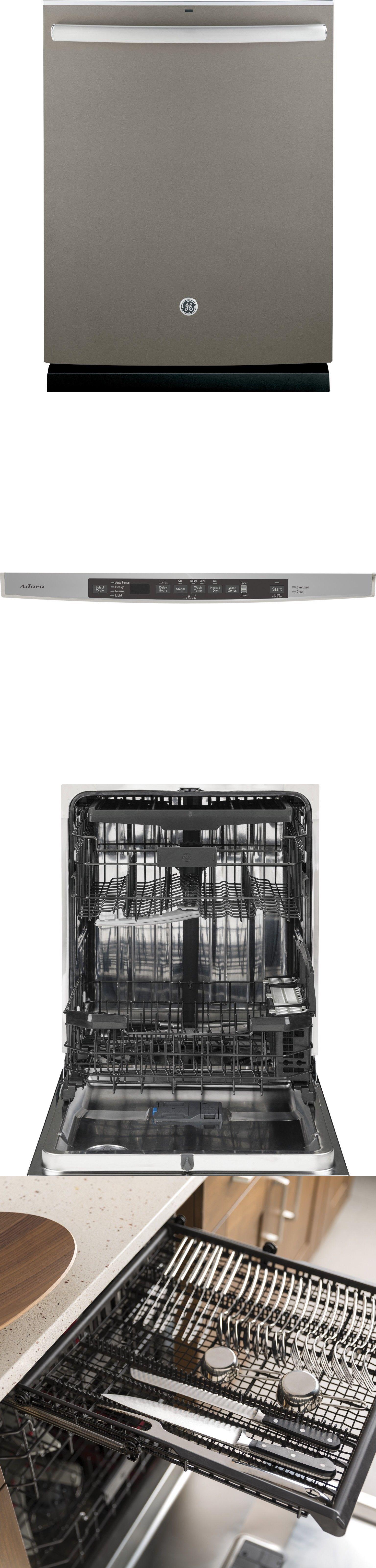 Dishwashers 116023 Ge Ddt595smjes Stainless Steel Interior