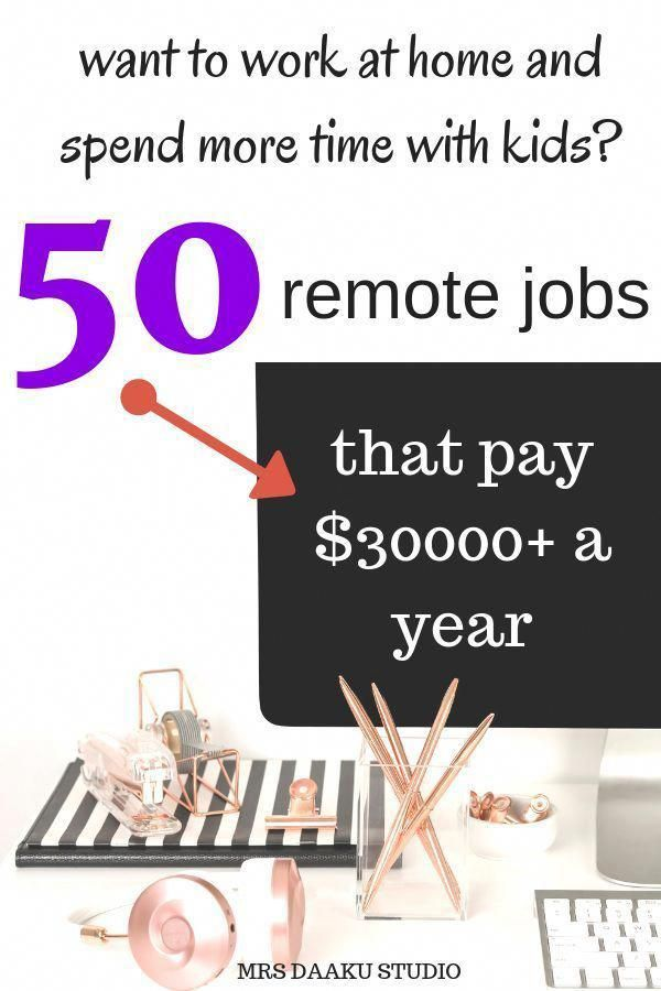 50 work from home jobs that pay well in 2020 ($5000+/mo and up) #stayathome
