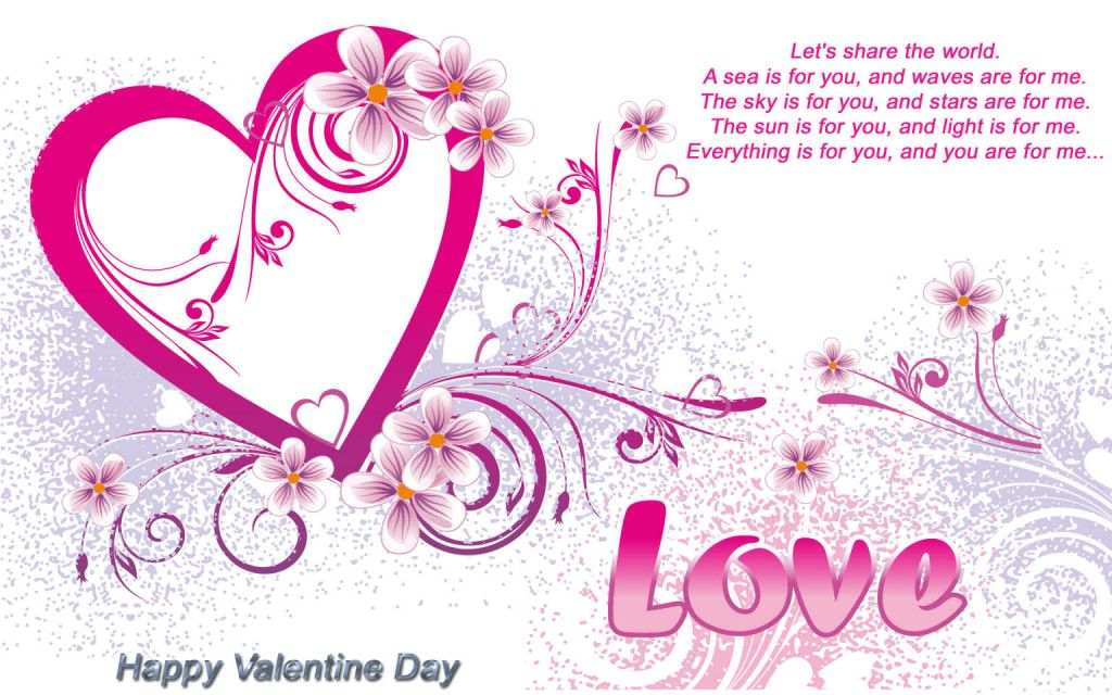Valentine\'s Day is a day to celebrate love, the most beautiful ...