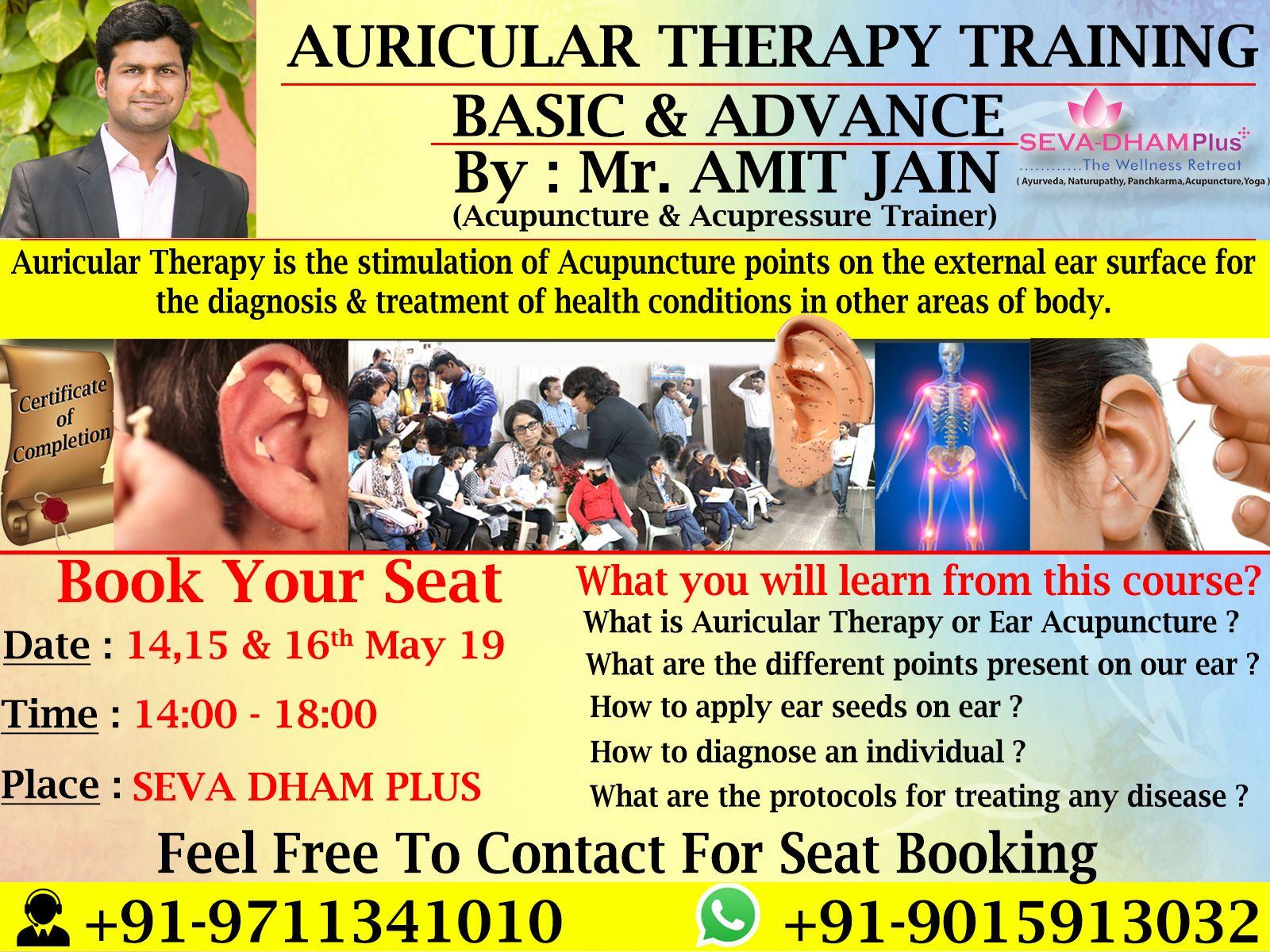 Learn ! Practice ! Heal Learn #Auricular #Therapy or #Ear