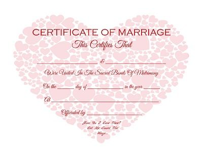 Keepsake Marriage Certificates Free Graphics And Printables Trulytruly