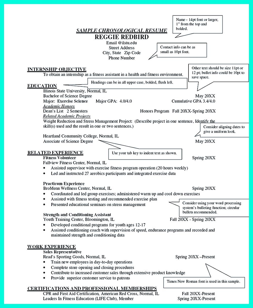 How To Write A Good Resume Amusing Chronological Resume Is Neededpeople In Making Them Understand