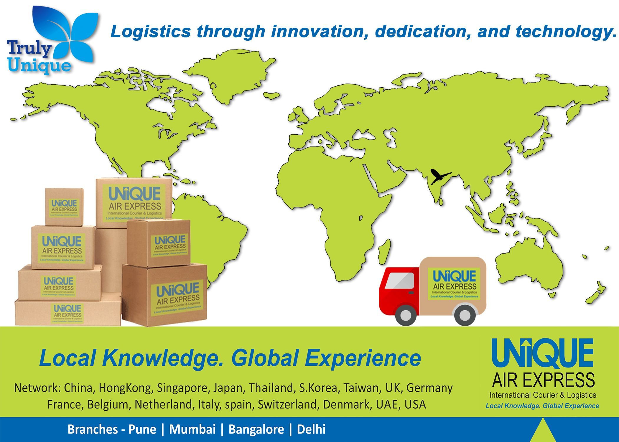 One of the Best & Fastest International Courier &