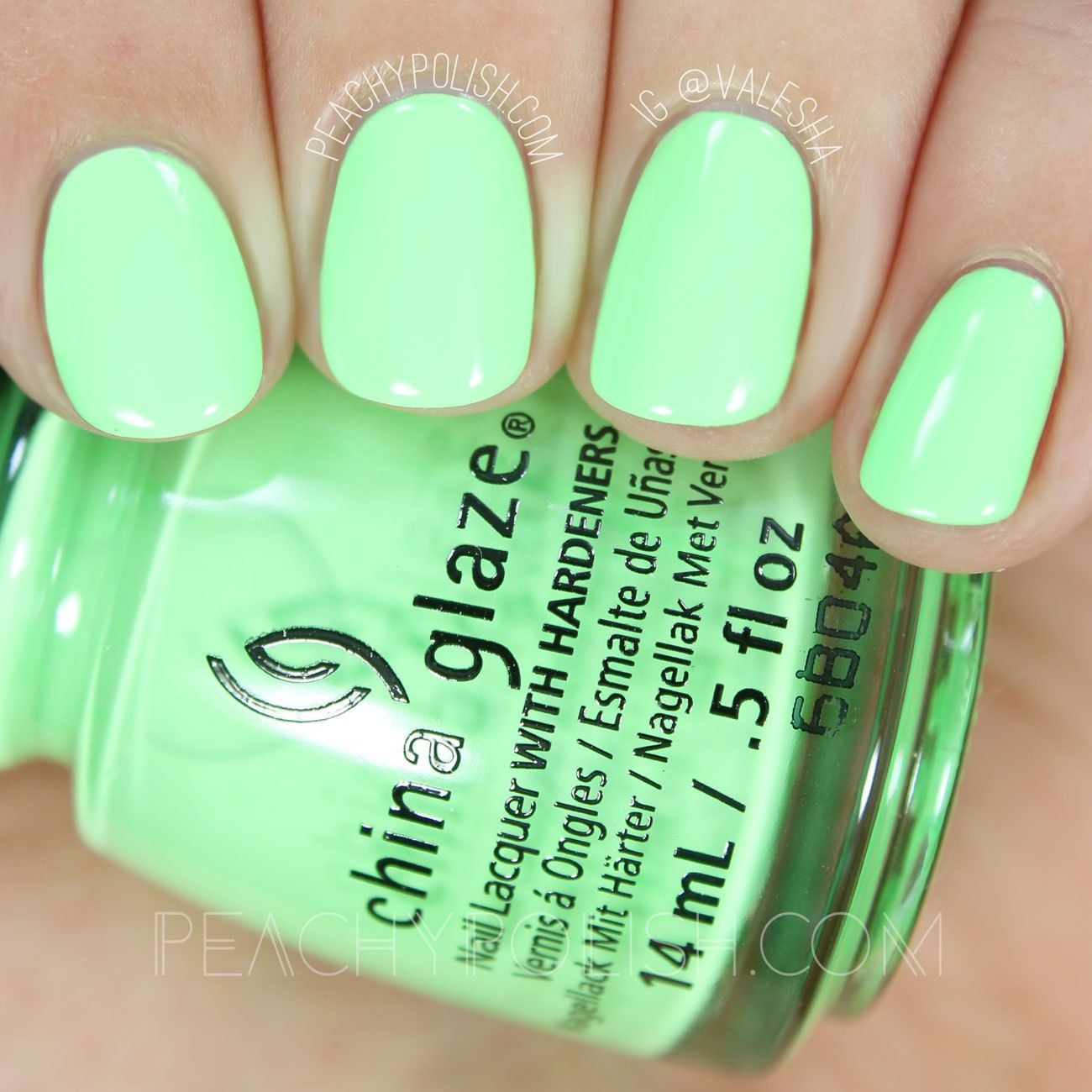 China Glaze Lime After Lime | Summer 2016 Lite Brites Collection ...