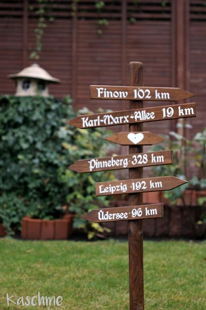 Kaschme Wegweiser Garten Balkon Pinterest Garden