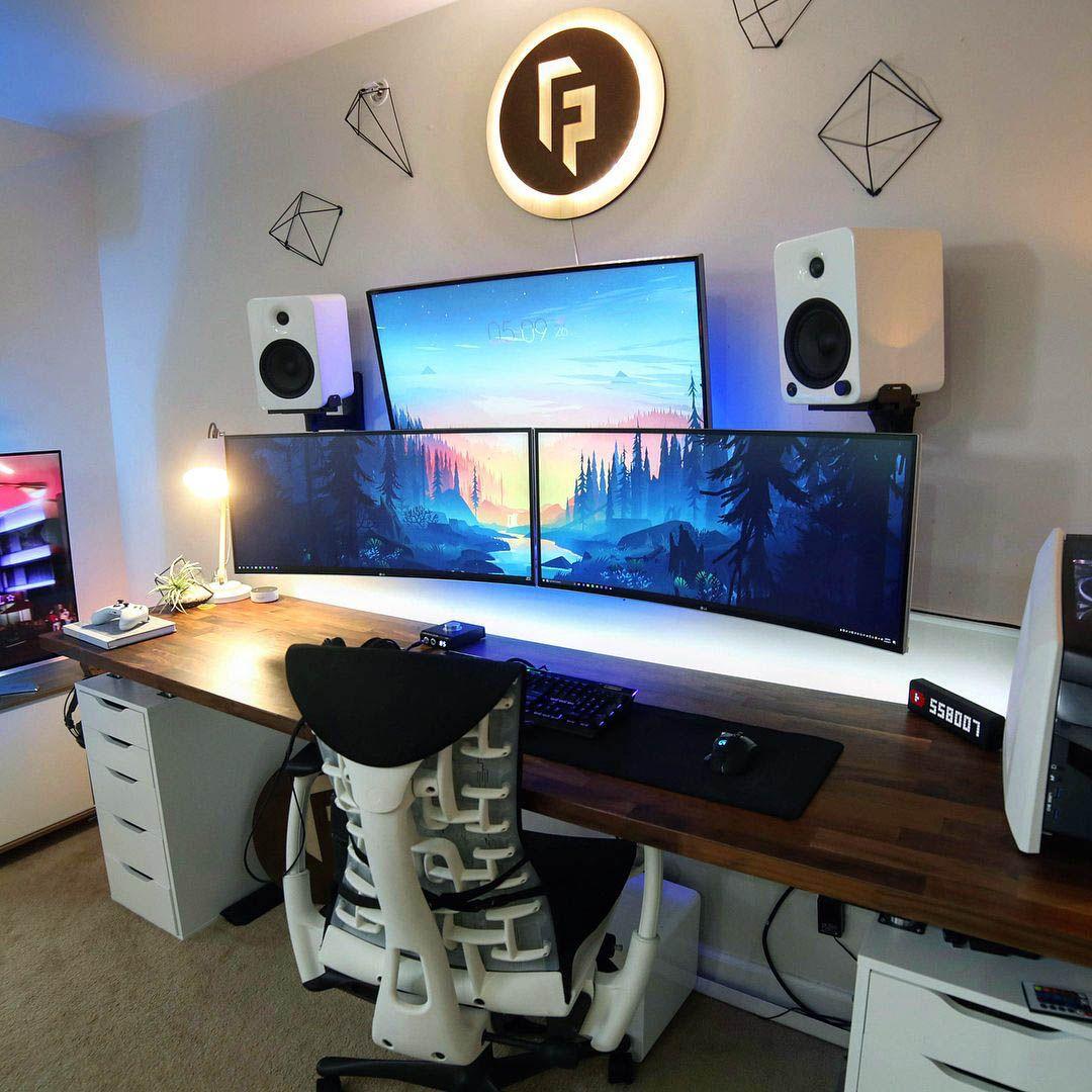 Beautiful Gaming Desk Necessities To Inspire You Diy Computer