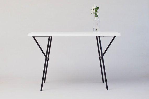 Tafelpoten Metaal Zwart.Minimalistische Moderne Metalen Tafelpoten Alles Met De