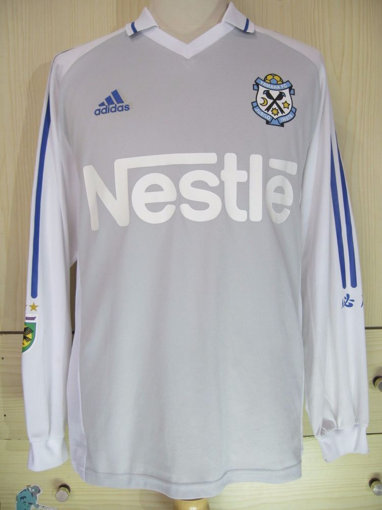 c7051c538ca Jubilo Iwata J League Japan 2004 Player Adidas L s Football Soccer Jersey  Shirt