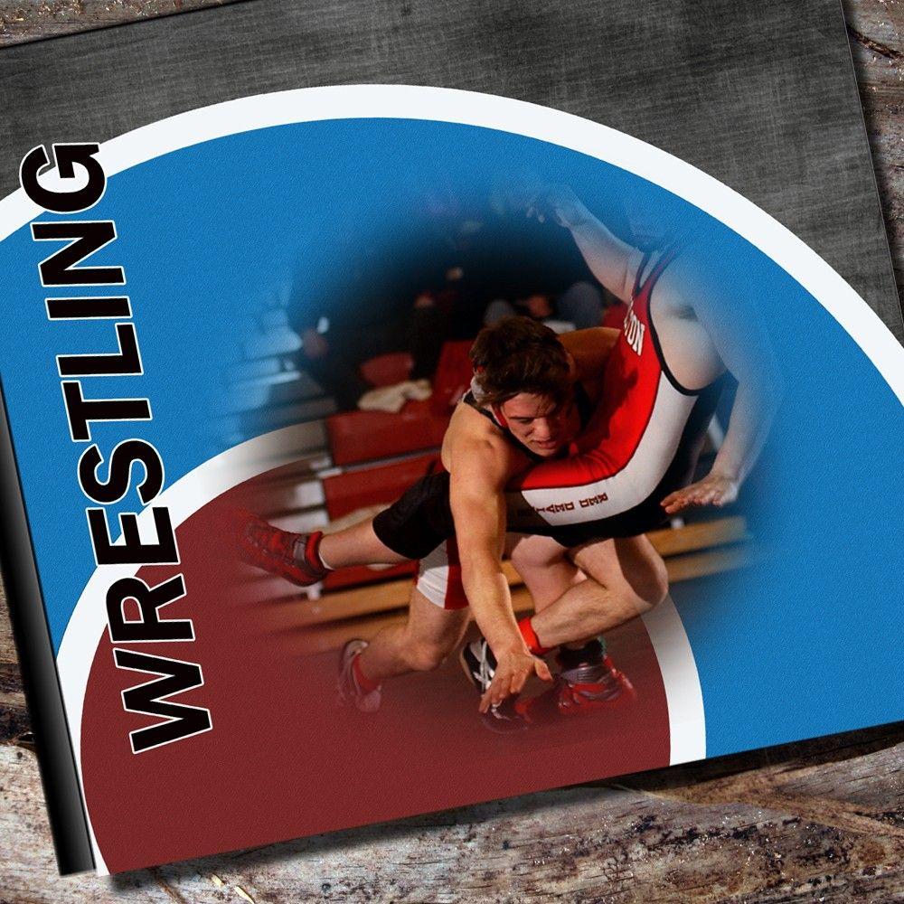 Custom Wrestling Photo Album or Scrapbook. $55.95, via Etsy.