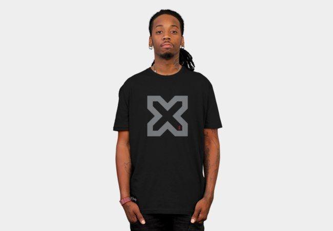 Cross my Heart /Grey T-Shirt - Design By Humans