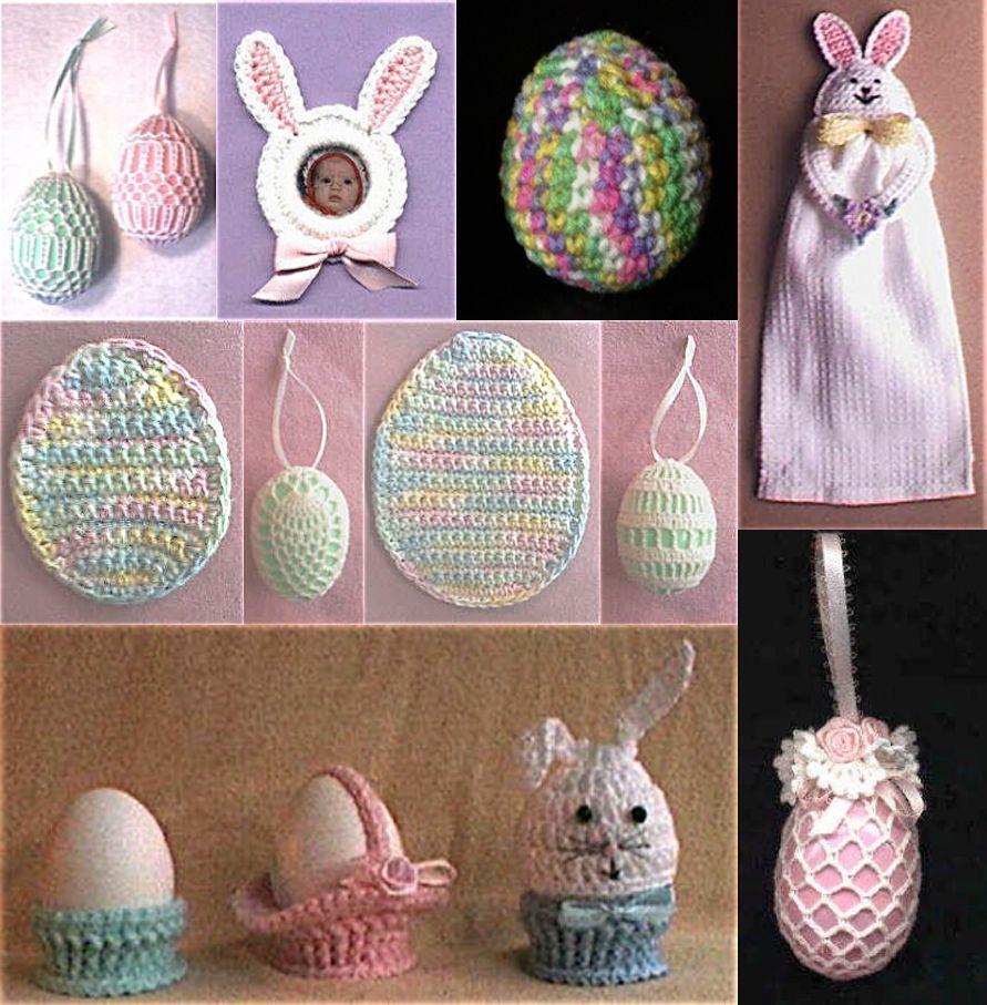 Easter ~ free patterns | Crochet Easter Eggs | Pinterest ...