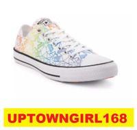 75dddc106b2 Converse Chuck Taylor ALL STAR Lo Geostar Pride Rainbow Shoes LGBT Men Size  New