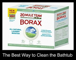 Borax Is The Best For Cleaning Grime And Soap Scum In The