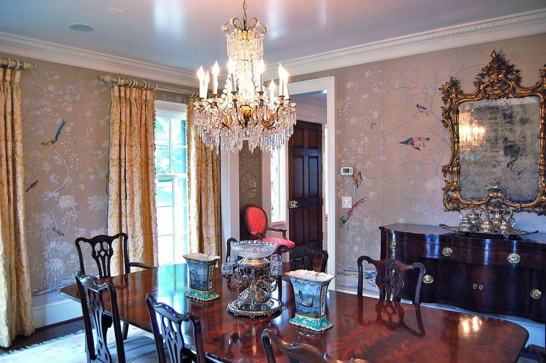 Katherine Connell Interior Design formal dining room