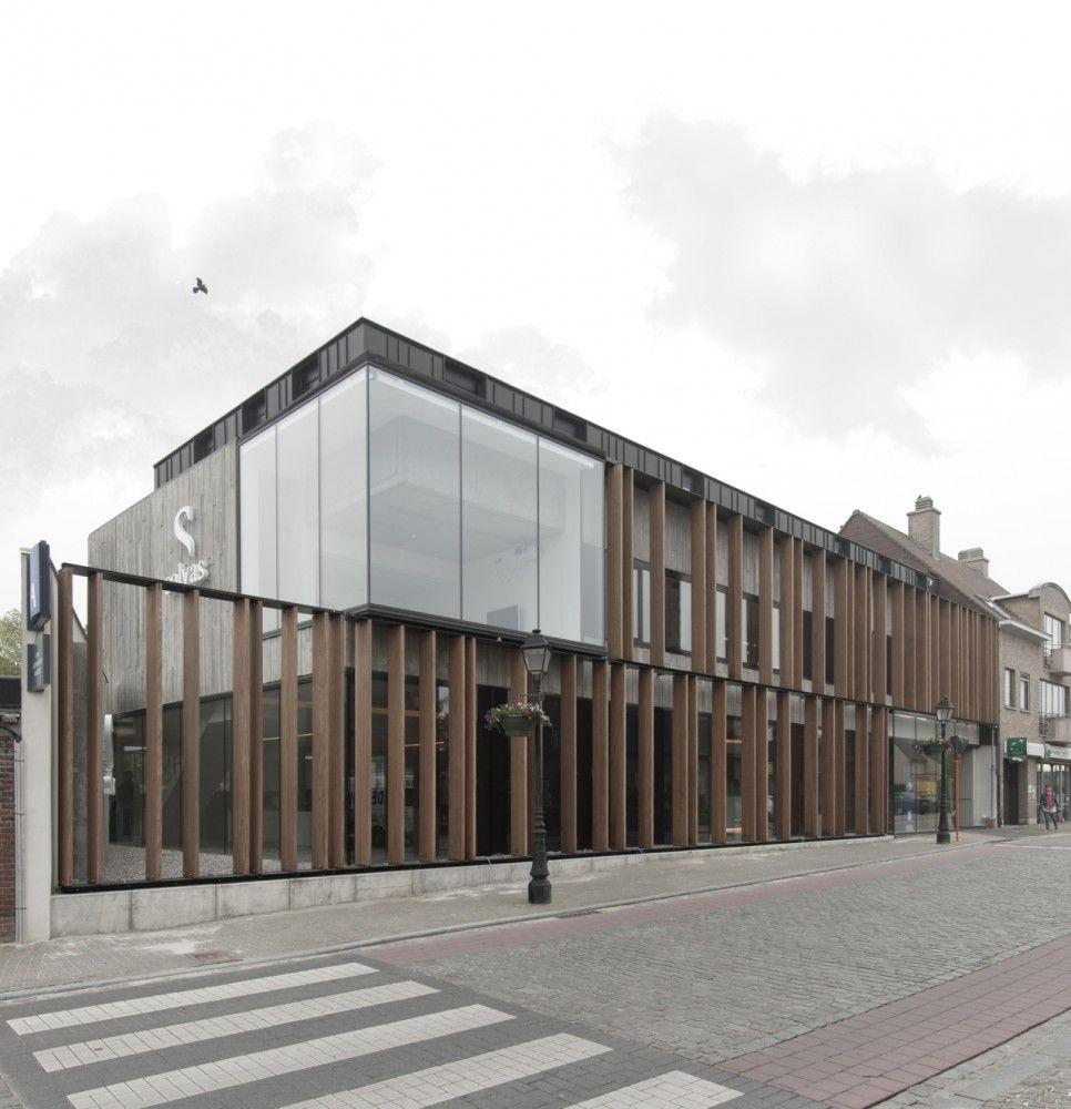 Office Solvas Graux Baeyens Architecten Facades