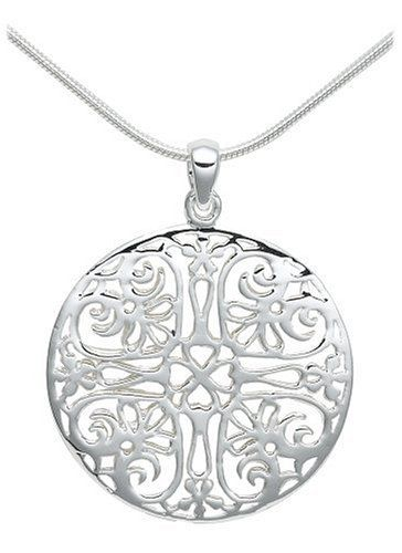 Simple yet full of elegant style, the Sterling Silver