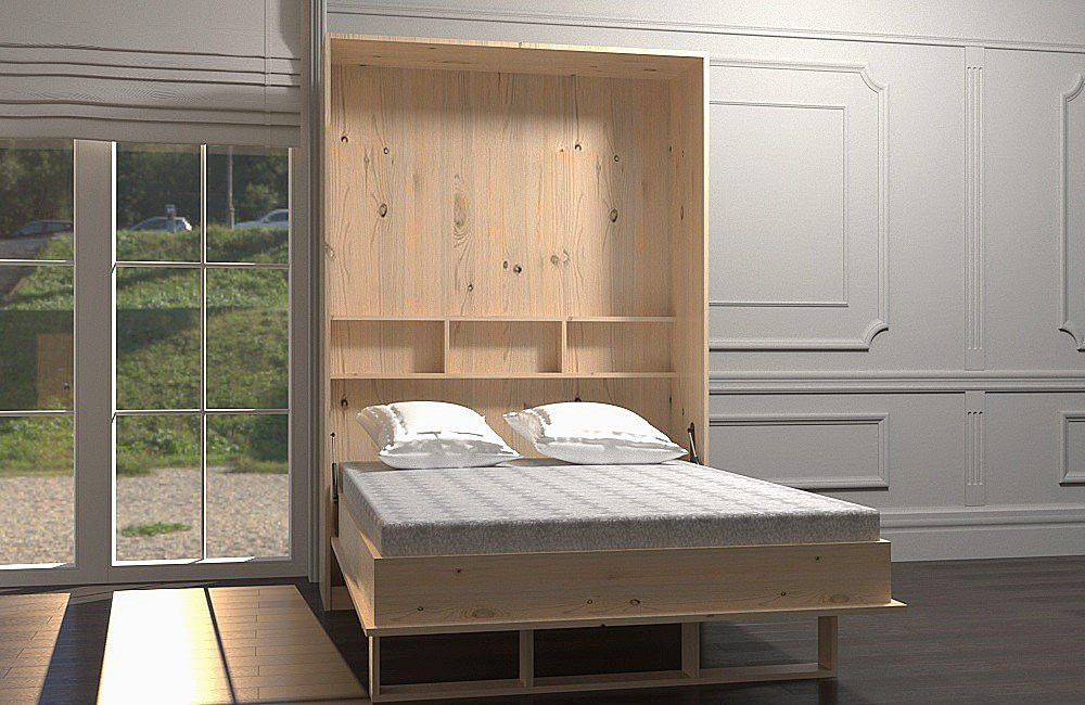 Schrankbett Doppelbett
