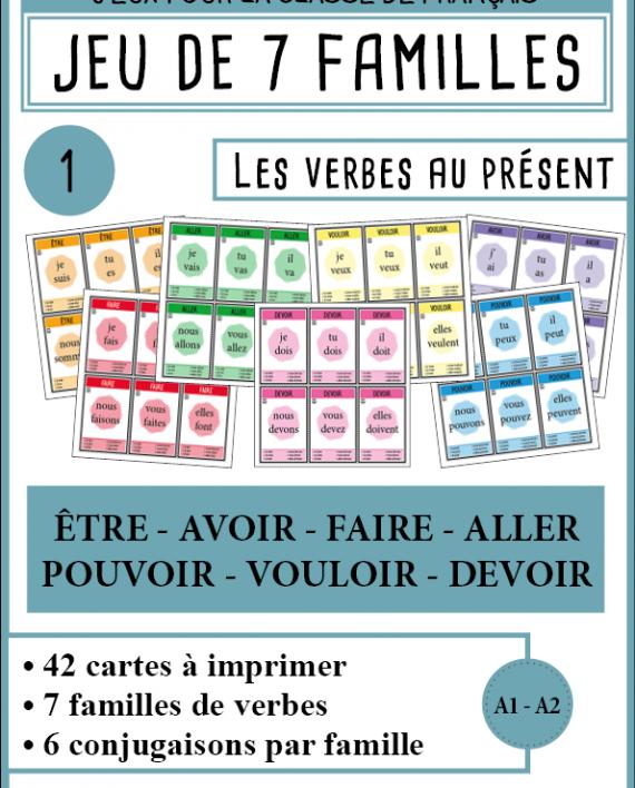 Populaire Téléchargez des cartes pour créer votre propre jeu de 7 familles  TI36