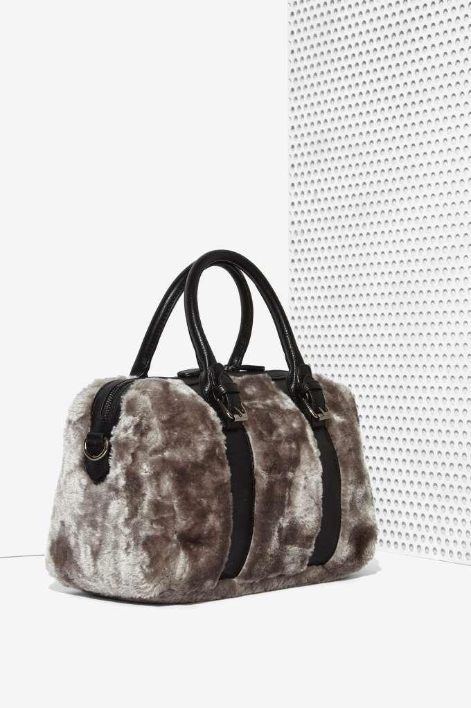 Nasty Gal x Nila Anthony Callie Faux Fur Crossbody Bag - Accessories ... 3596768b97538