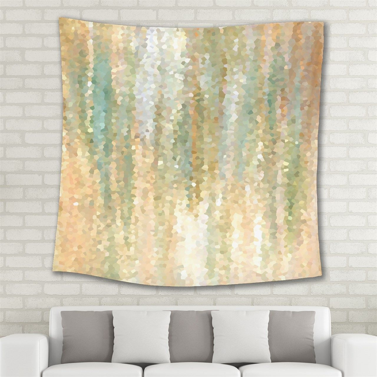 Wall Tapestry Wall Hanging Home Decor Design 30 Tan Beige Peach ...