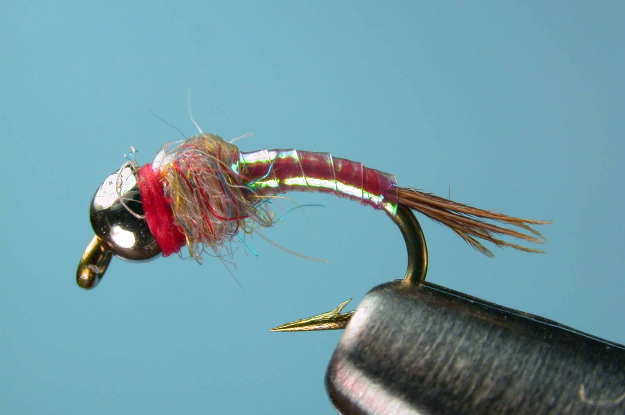 Size 12 14 or 16 6 Chironomid//Blood Midge Flies for Trout