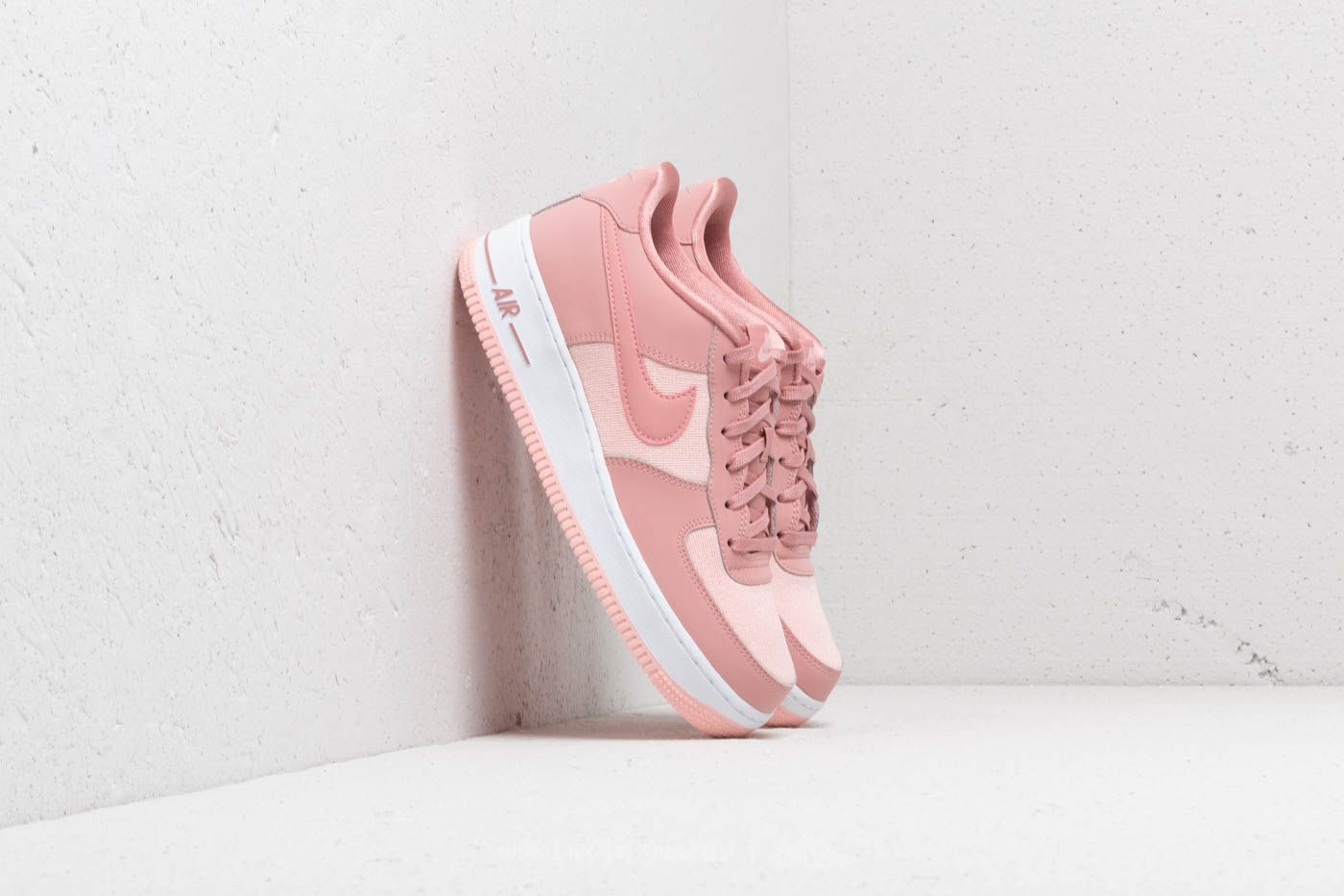 Nike Air Force 1 Lv8 Gs Rust Pink Rust Pink Storm Pink Pink