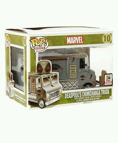 Funko Pop Rides Marvel Deadpool S Chimichanga Truck With Deadpool Funko Funko Pop Funko Toys