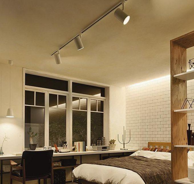 Bluetooth対応のledスポットライト 寝室 実例 設置イメージ集