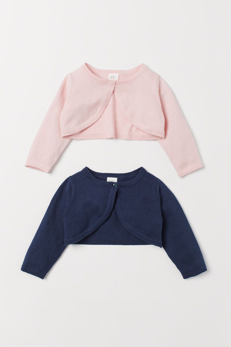 Baby Girls Knit Cardigan+Jumpsuit Dress Textured Jacket Shrug Bolero Top Outfit
