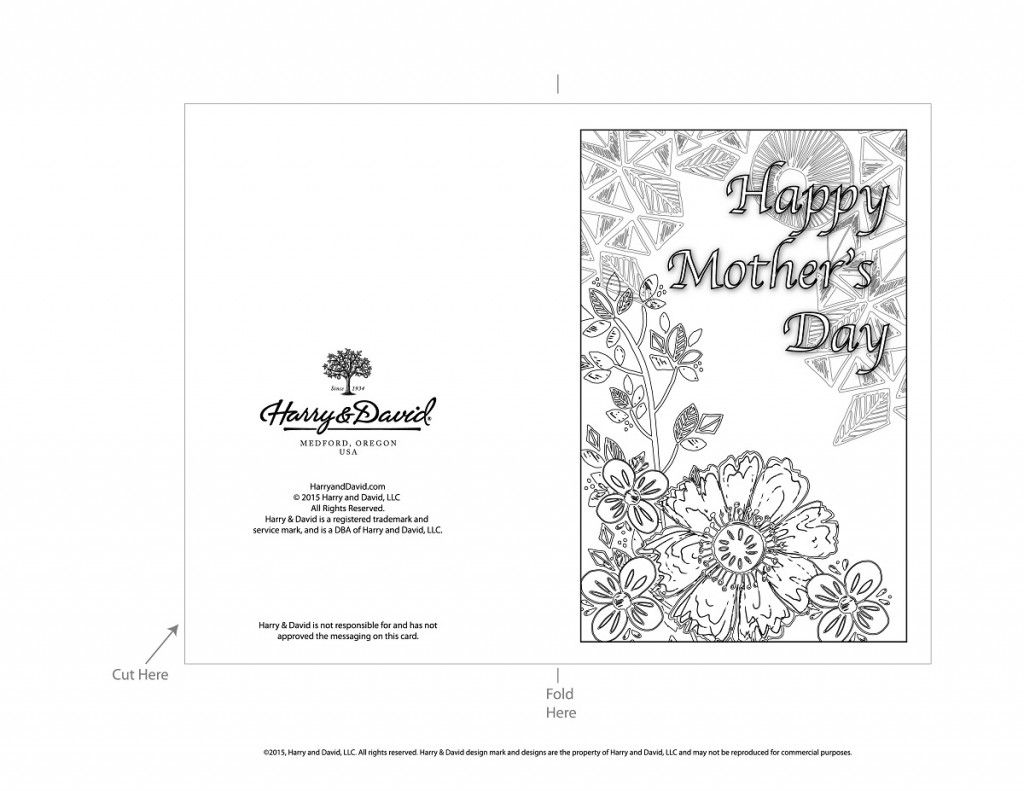 Printable Mother S Day Cards Mothers Day Card Template Mothers Day Cards Printable Mothers Day Cards