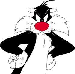 10) Sylvester Cat- favorite cartoon character