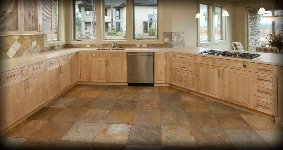 Natural Stone For Kitchen Floors | ... Choosing the Suitable Kitchen ...