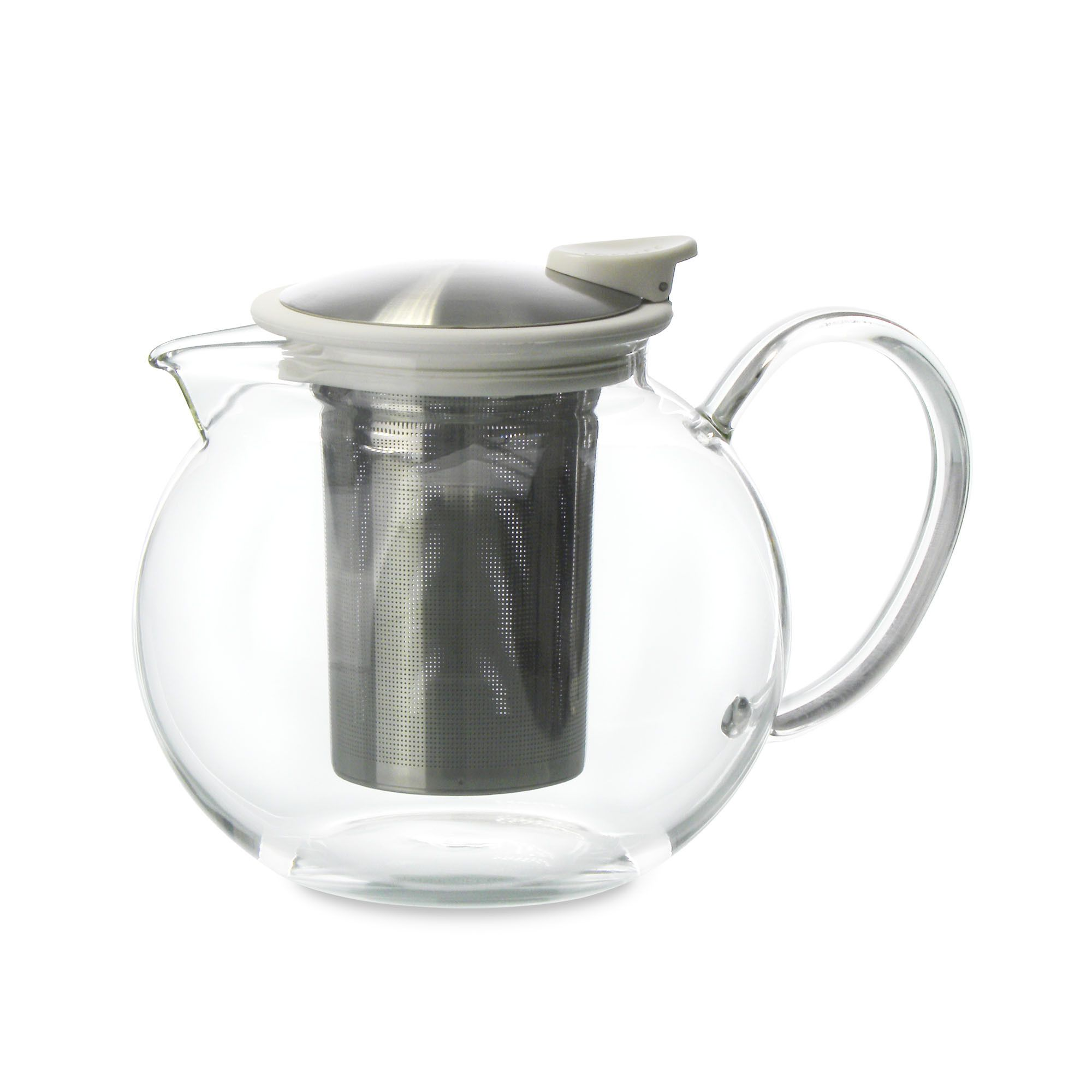 Bola Glass Teapot with Basket Infuser (2 Sizes) Glass