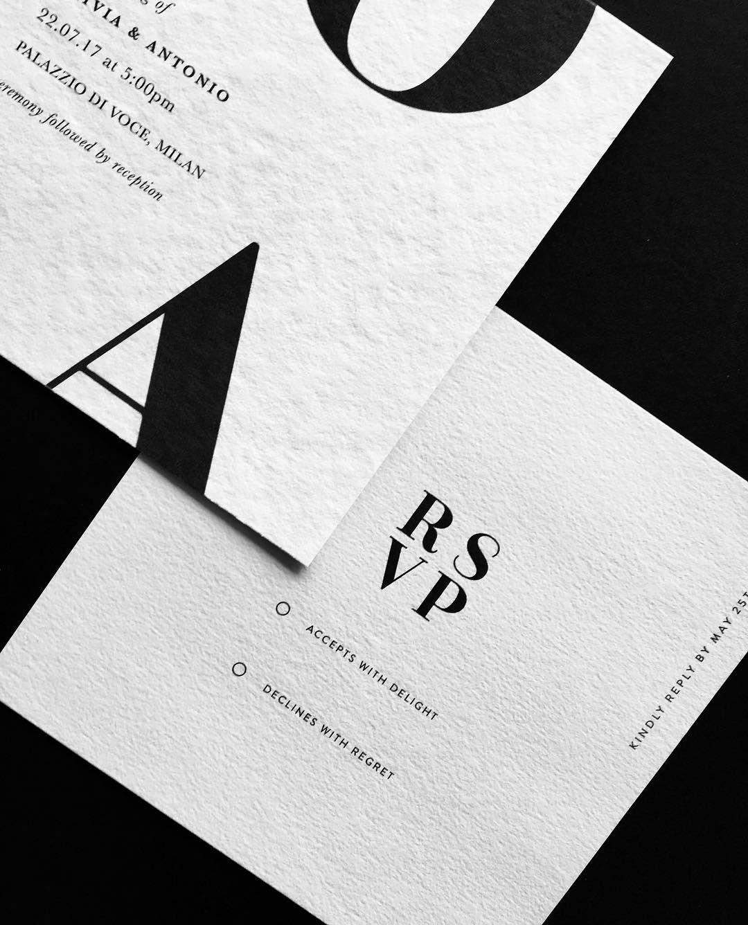 Formal Invitation & RSVP by EMILY LAUREN Wedding