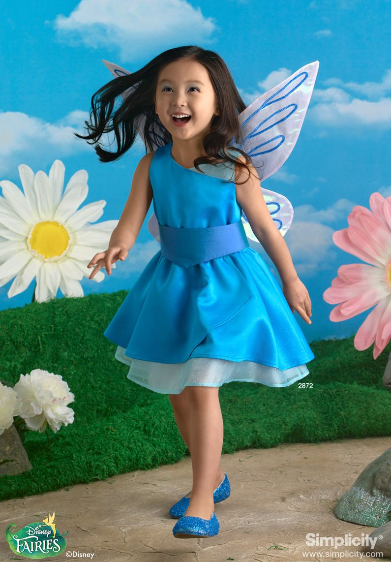 Disney Fairy Silvermist Costume for Children #SimplicityPatterns ...