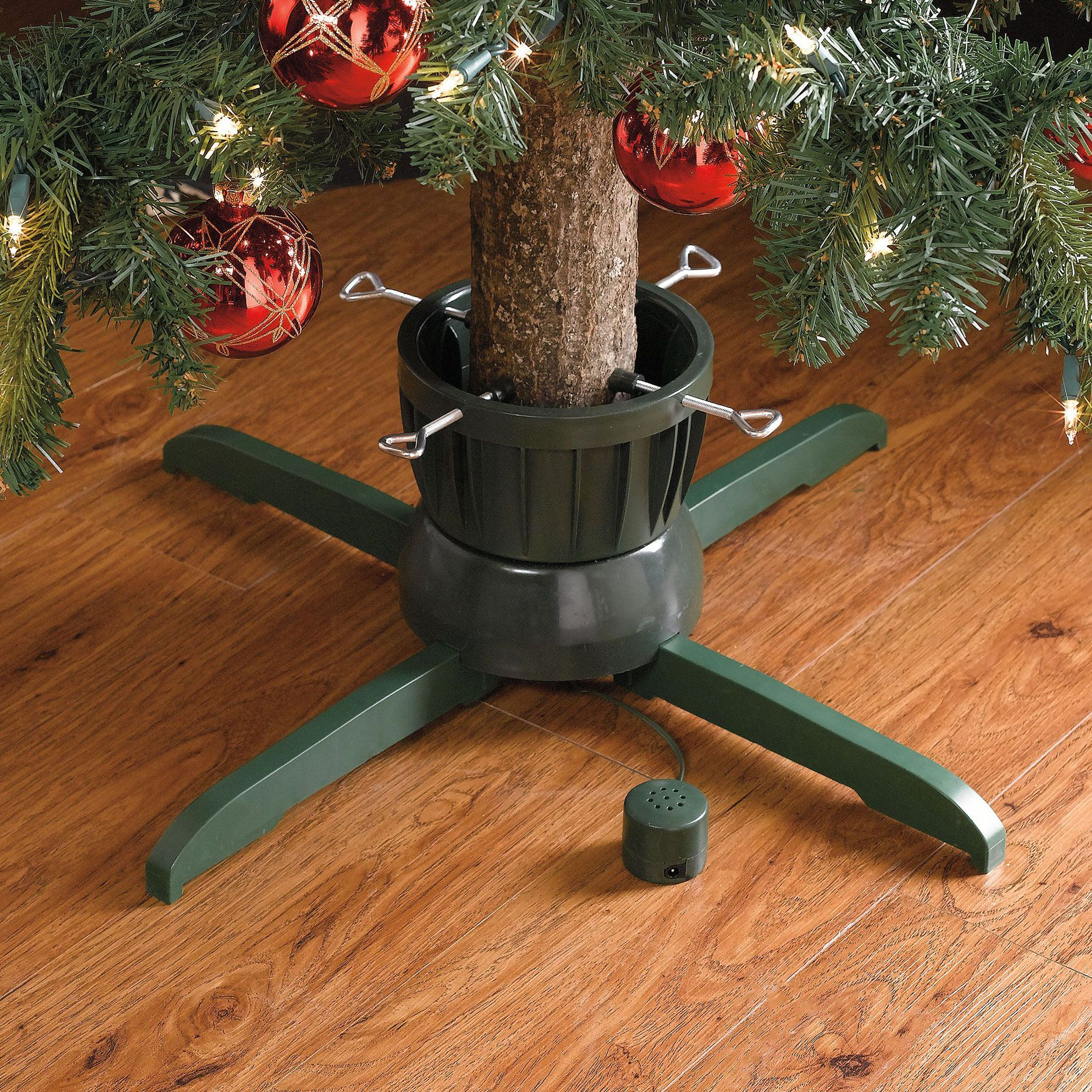 Revolving Musical Tree Stand | Christmas Storage | Brylanehome ...