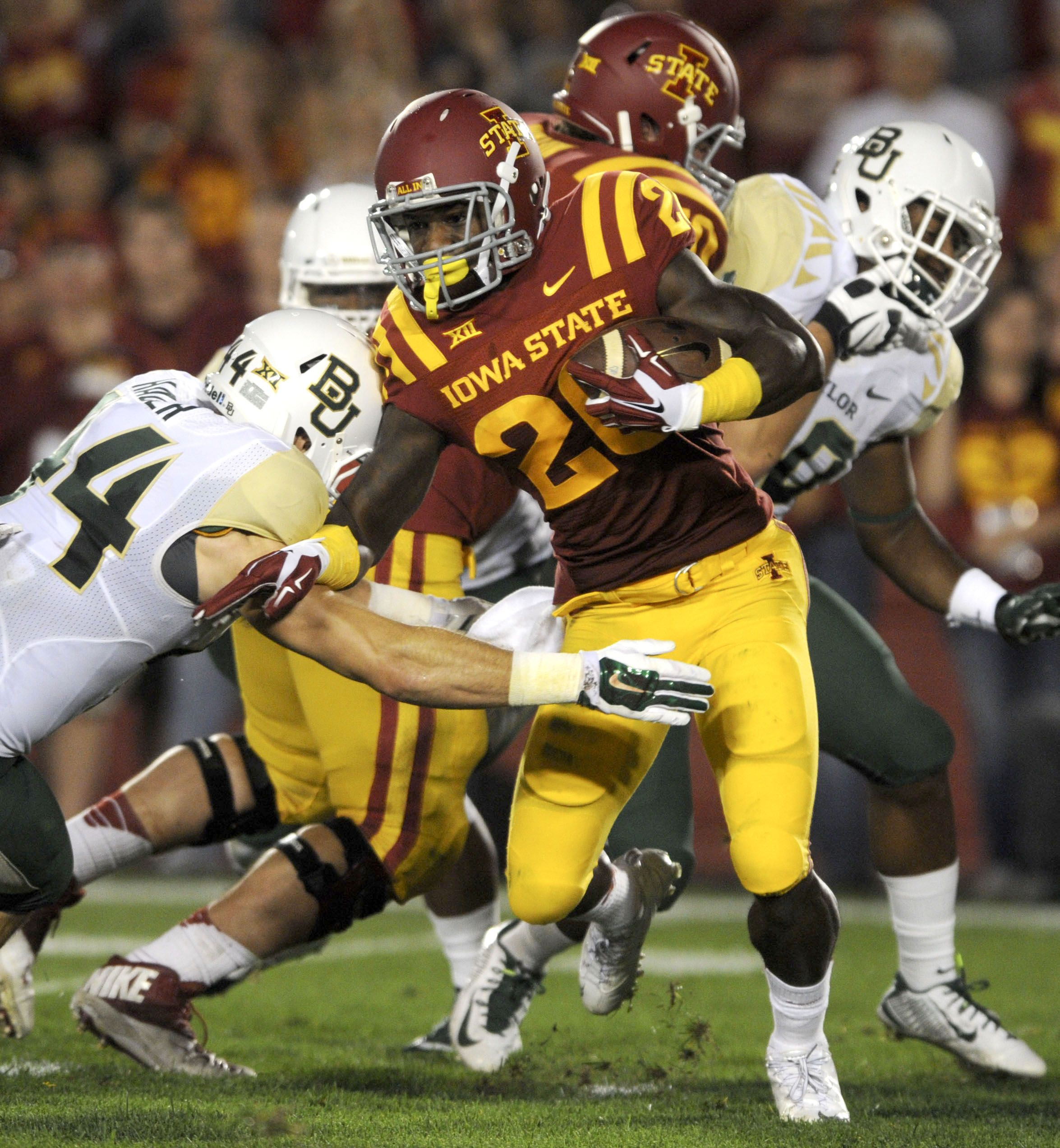 Iowa State S Running Back Devondrick Nealy And The Rest Of The