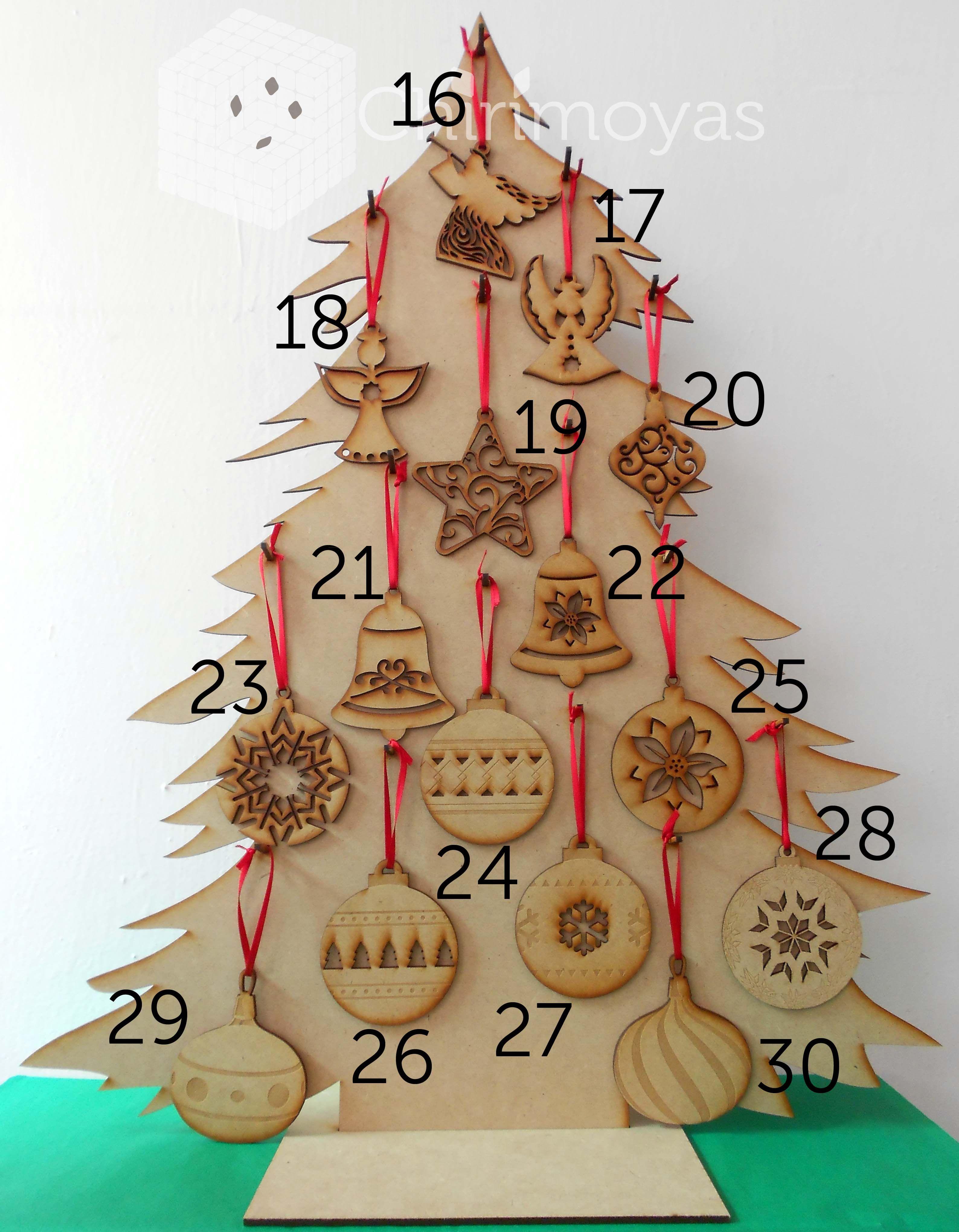 oferta árbol De Navidad Kit De Decoración De Madera Madera Cruz Puntada Regalo De Navidad Artesanía