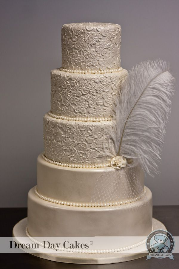 Wedding Cakes Ivory Lace Cake Gainesville Fl Dream Day