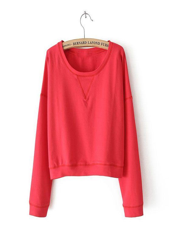 Long sleeved short sweater