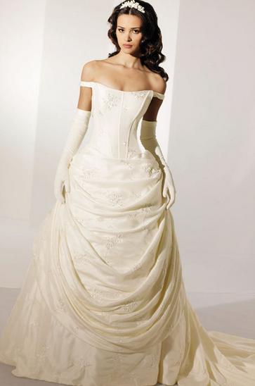 Georgian Style Renaissance Wedding Dresses