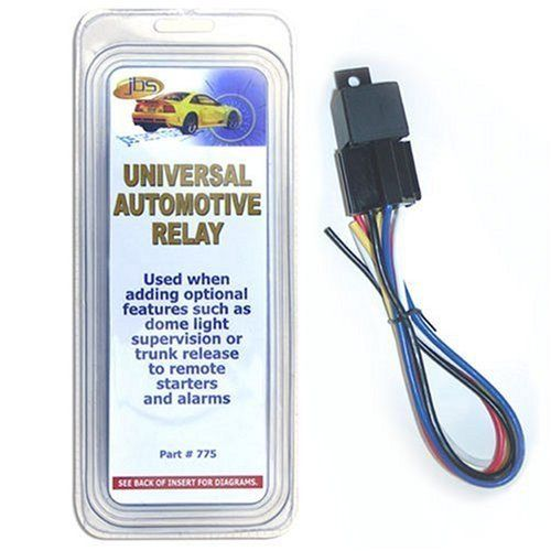 A2c 775 Universal Automotive Relay By Bulldog 6 38 Bulldog Universal Relay With 5 Wire Harness Relay Automotive Universal