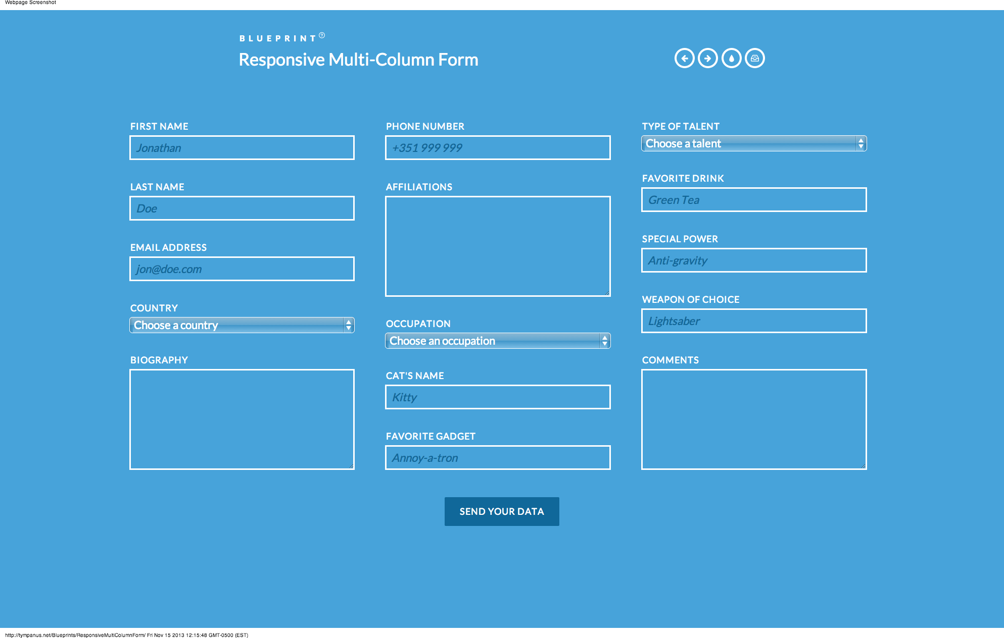 Blueprint responsive multi column form httptympanus blueprint responsive multi column form httptympanusblueprints malvernweather Gallery