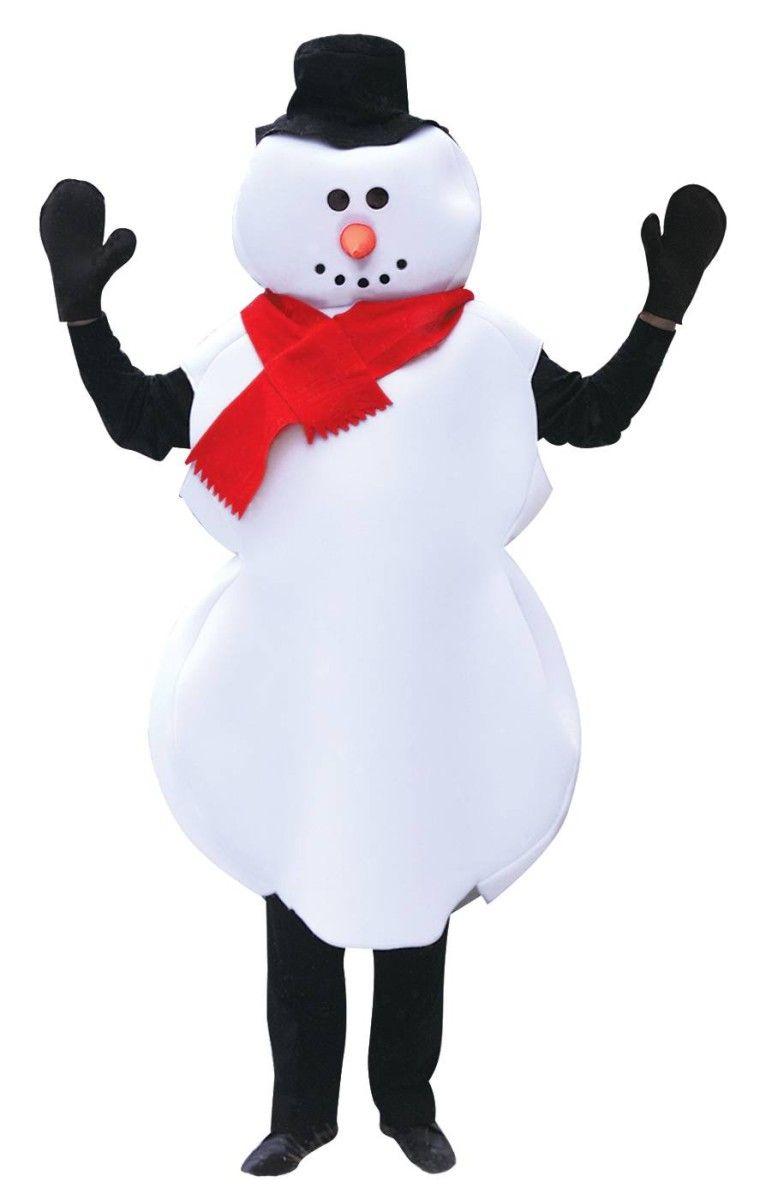 Bonhomme De Neige Garçon//Fille Costume Robe Fantaisie Enfant Taille Unisexe Noël