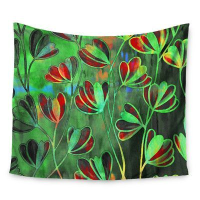 KESS InHouse Efflorescence by Ebi Emporium Wall Tapestry Size: