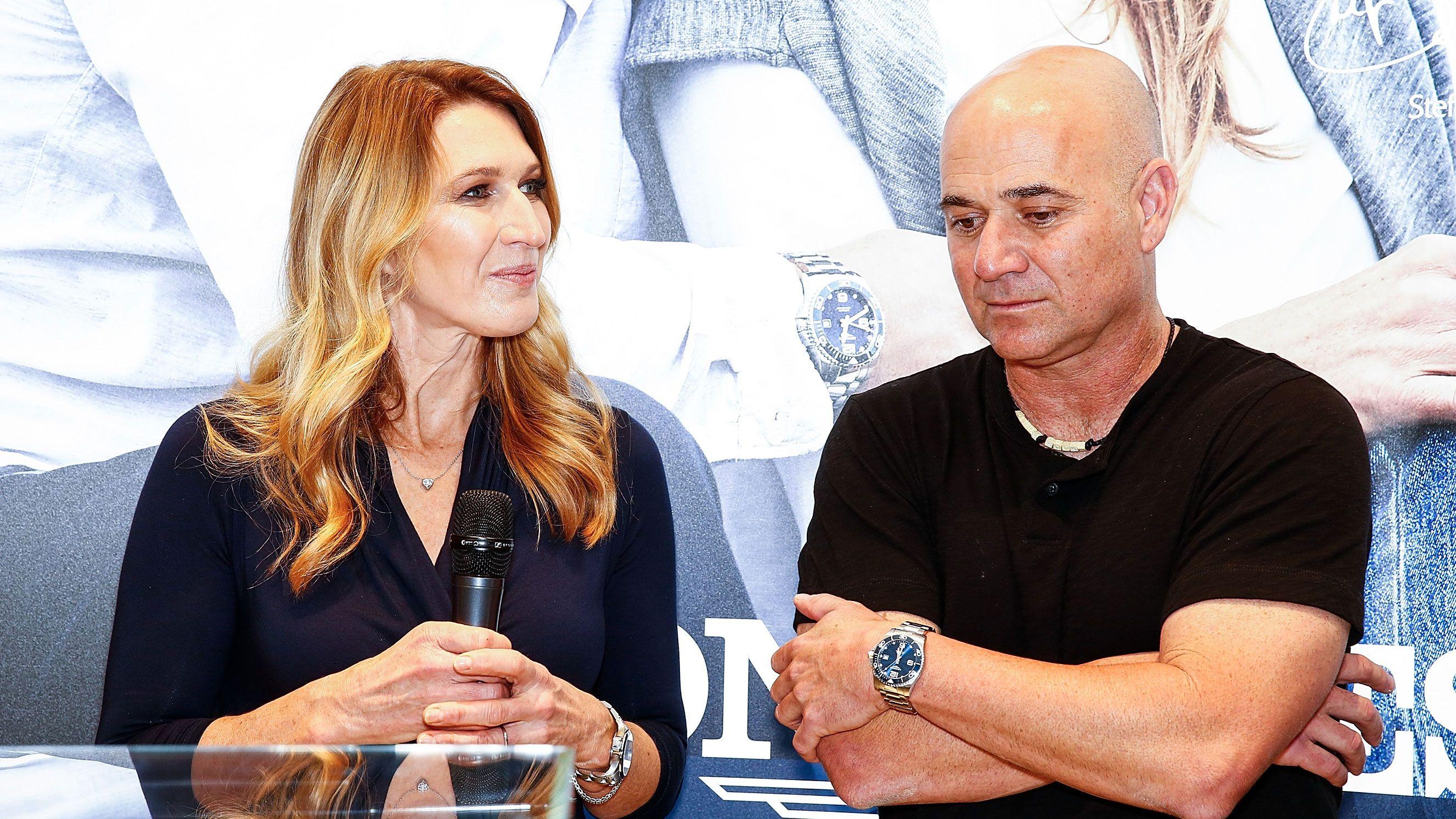 Steffi Graf Andre Agassi Ehe Probleme Jetzt Kommt Alles Heraus Steffi Graf Andre Agassi Promi News