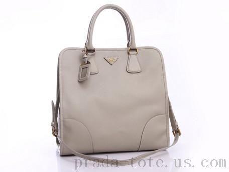aece310dc66a Discount  Prada BN2253 Handbags in Light Gray Outlet store