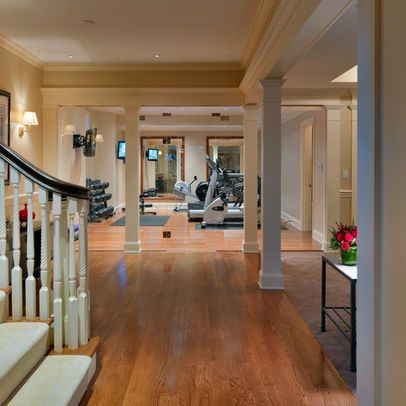 basement exercise room perfect layoutplus the heavy bag