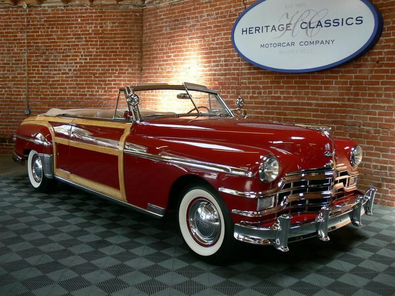 Chrysler Town & Country Convertible Chrysler town and
